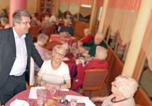 La restauration pour les seniors