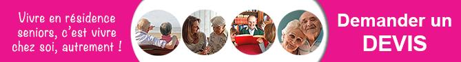 tarif residence seniors