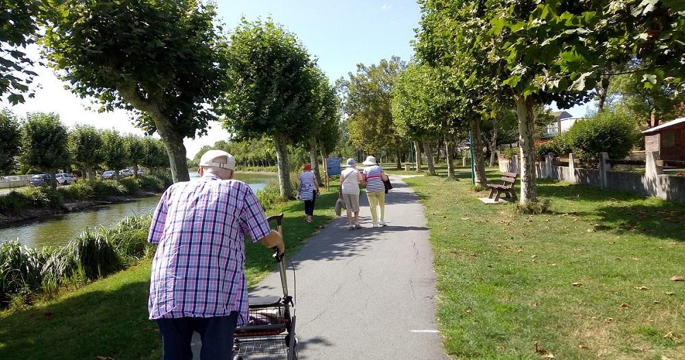 Les chutes chez les personnes âgées