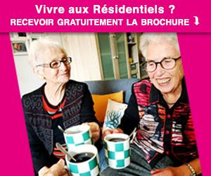 Demande de brochure Les Residentiels residences seniors
